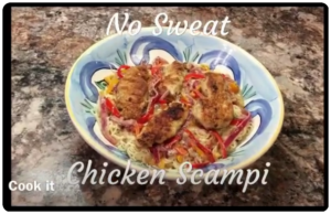 No Sweat Chicken Scampi Recipe