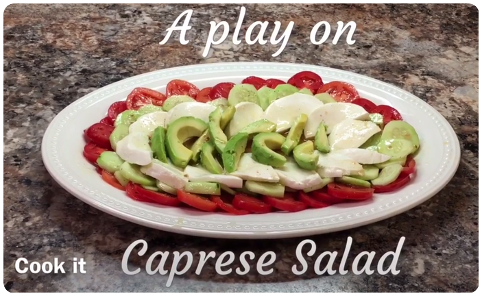A Play On Caprese Salad Recipe