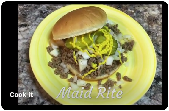 Maid Rite Loose Meat Sandwich
