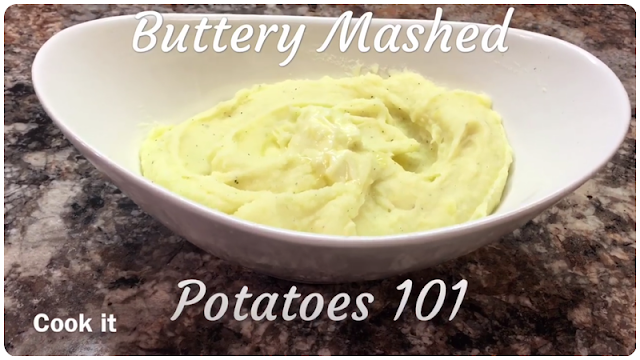 Buttery Creamy Mashed Potatoes 101
