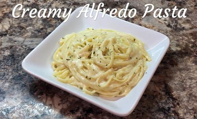 Homemade Creamy Alfredo Pasta Recipe