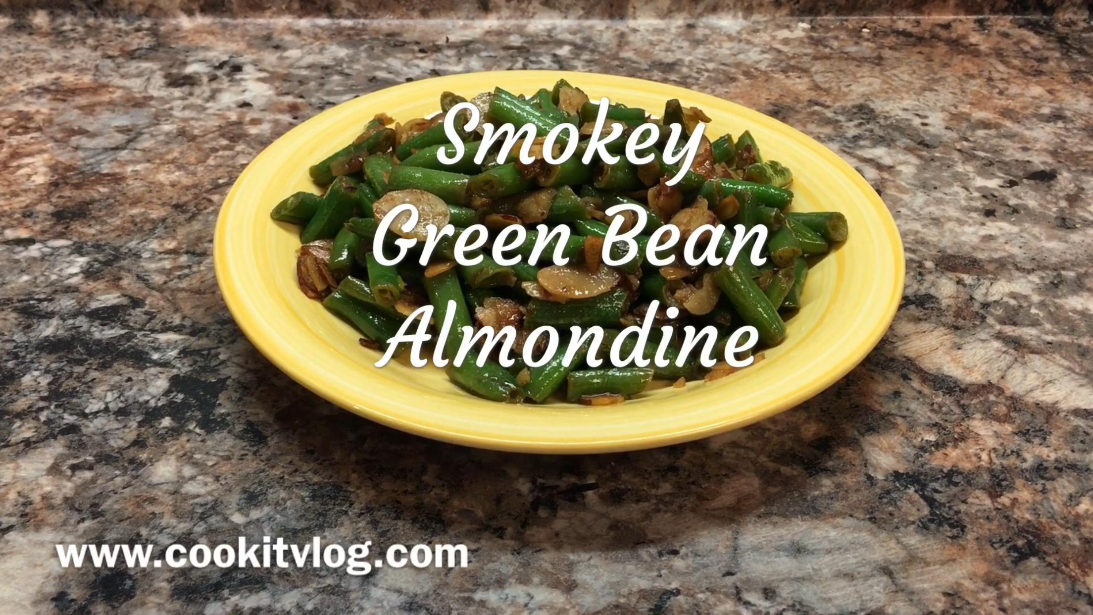 Smokey Green Bean Almondine Recipe