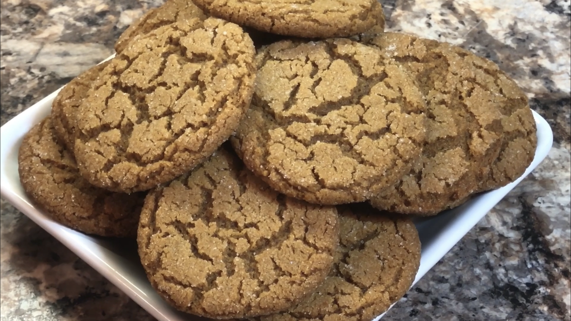 Old Fashion Gingersnap Cookie Recipe