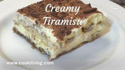 Creamy Tiramisu Recipe