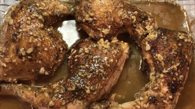 Smothered Garlic Chicken Recipe