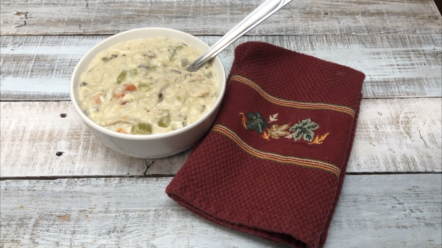 Chicken Wild Rice Soup Recipe