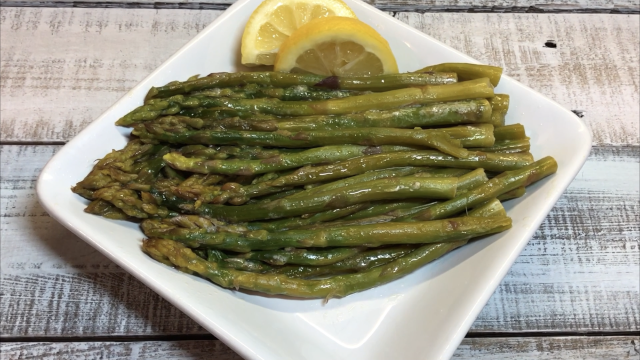 How to make fresh Lemon Butter Asparagus