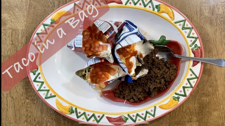 Taco in a bag