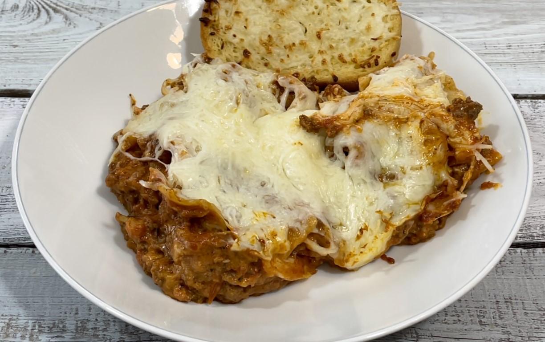 Tasty Pressure Cooker Lasagna