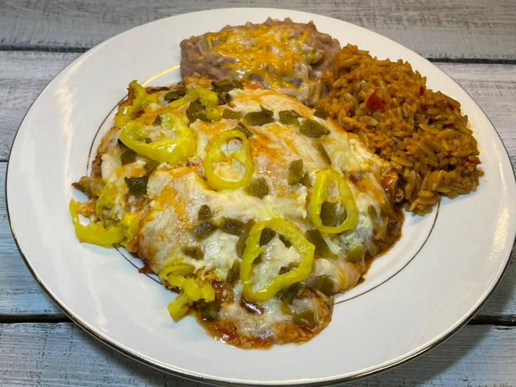 1 Amazing Beef Cheese Enchiladas