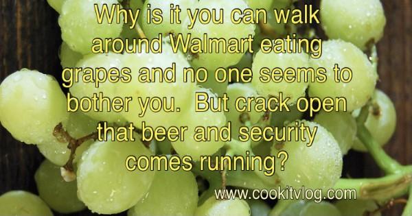Crack open a beer